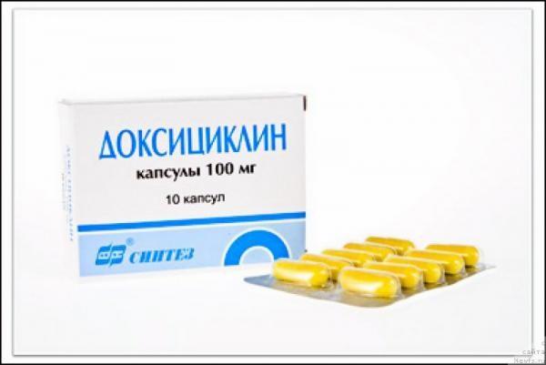 Доксициклин - антибиотики для профилактики боррелиоза