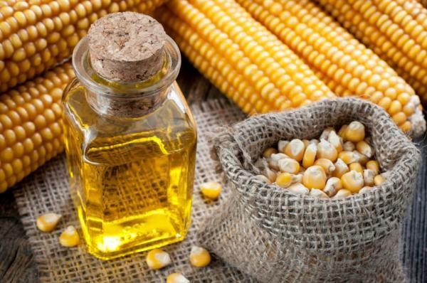 Хорошо помогают смеси на основе кукурузного масла