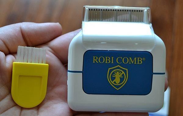 Электрогребень RobiComb