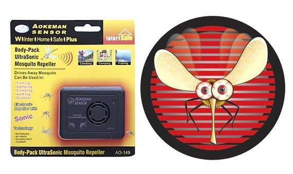 Портативный электронный отпугиватель комаров