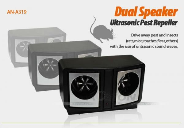 Ultrasonic Dual Pest Repeller