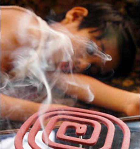 Категорически не рекомендуется использовать спираль в закрытых помещениях, без проветривания - дым может нанести вред здоровью