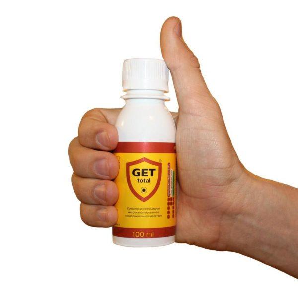 Жидкое средство «Гет»