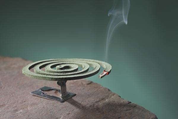 Отличной заменой электрофумигатору будут спирали от комаров