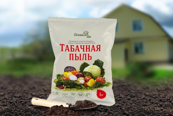 Табачная пыль для борьбы с садовыми вредителями