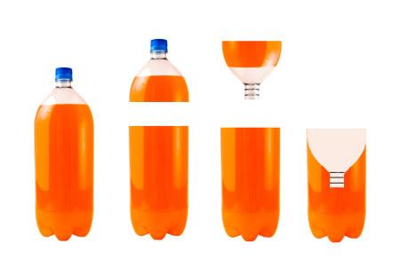 Ловушку из пластиковой бутылки можно сделать своими руками