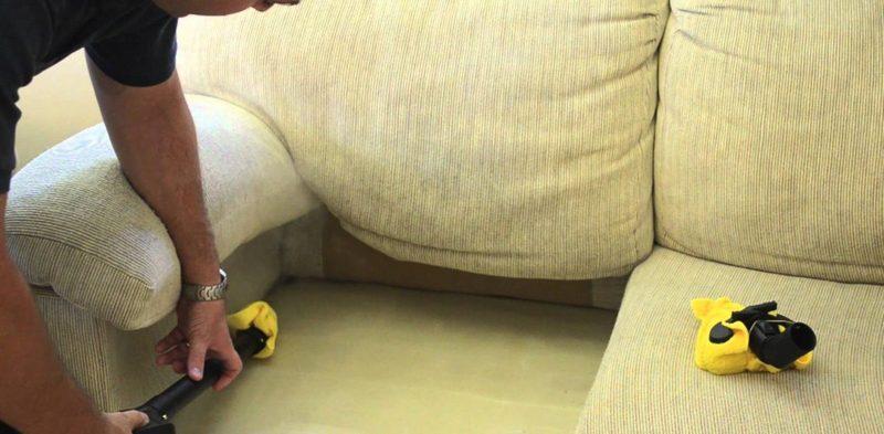 Как можно вывести клопов из дивана