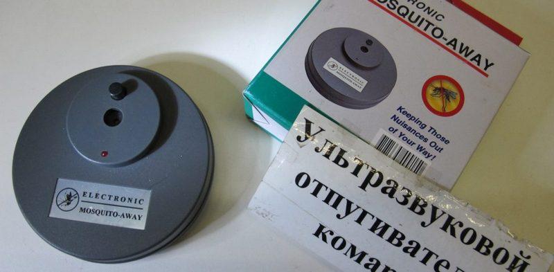 электронные отпугиватели комаров